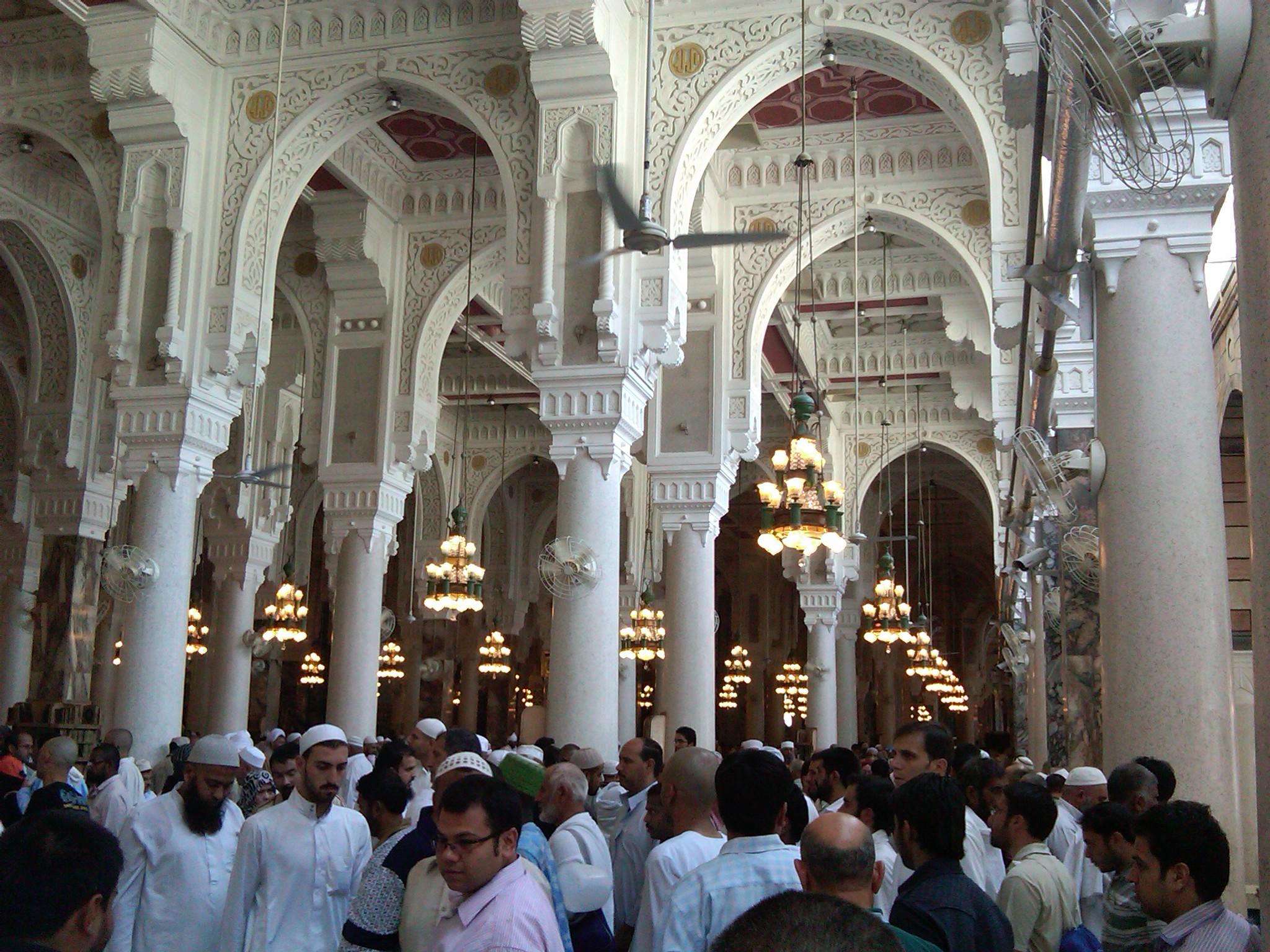 Masjid al haram for L interieur de la kaaba