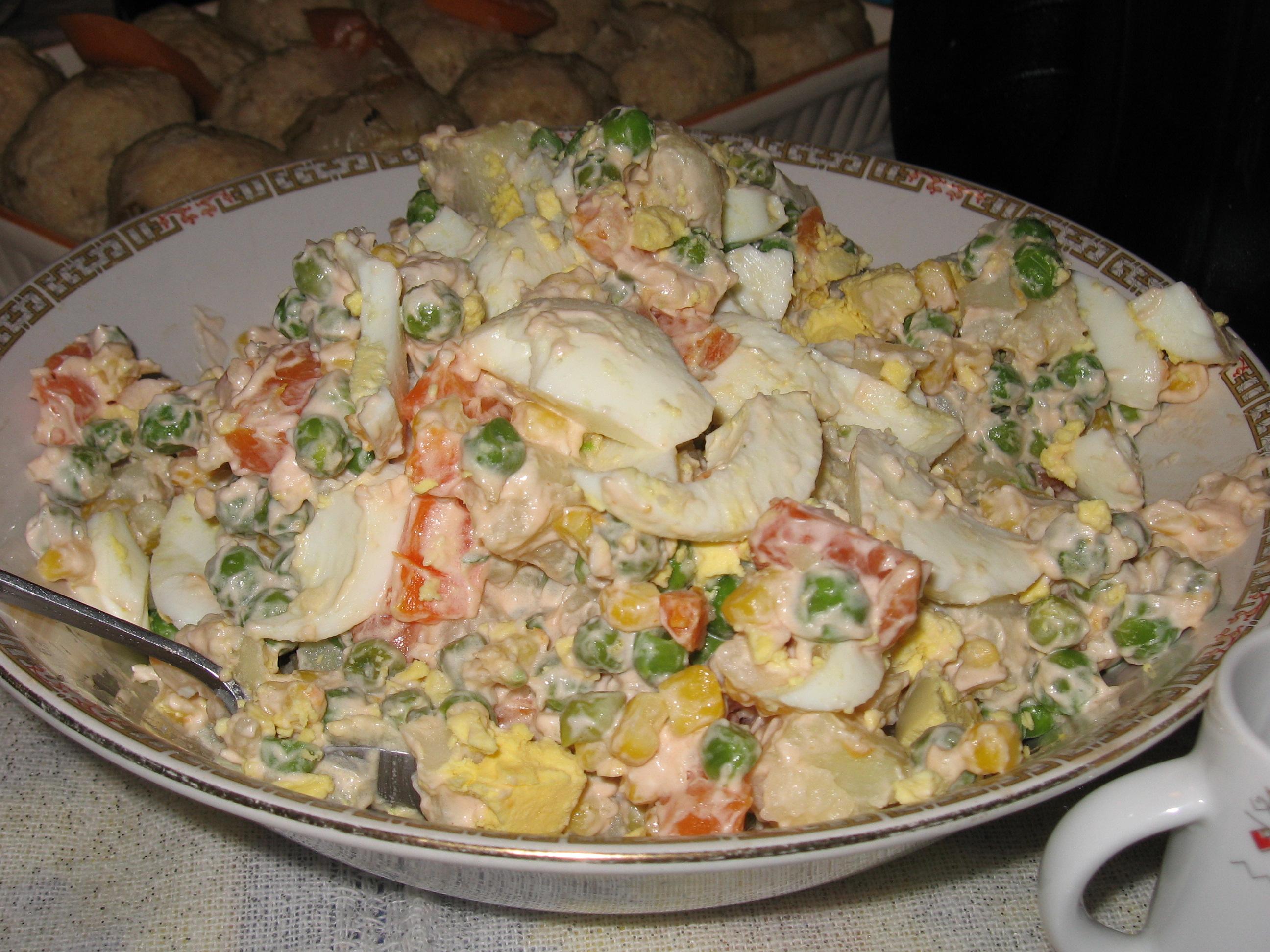 Рецепты русская кухня салаты рецепты