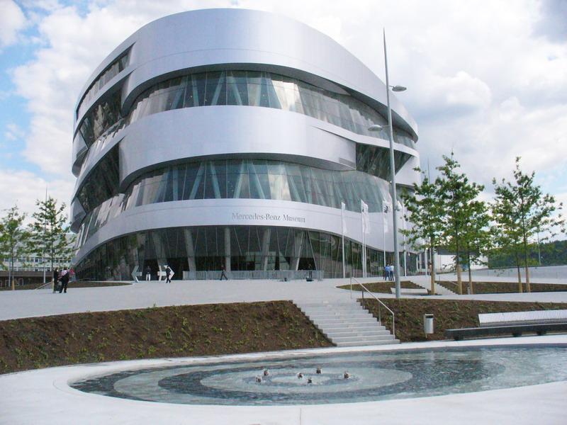 Musee Mercedes Allemagne Logo De La Voitur
