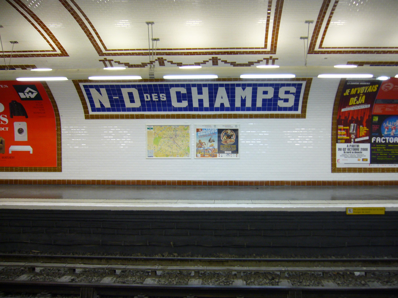Amenagement des stations du metro de paris - Faience metro parisien ...