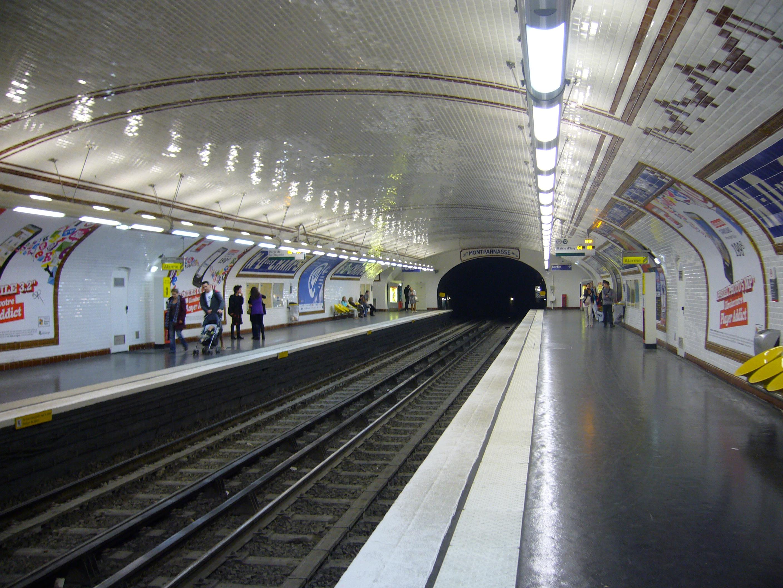 Notre dame des champs m tro de paris - Metro notre dame de lorette ...