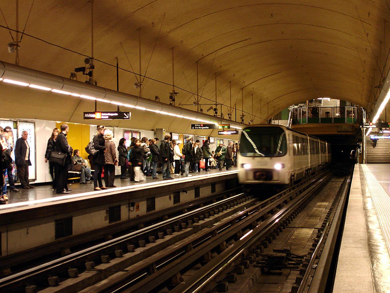 Metro de marseille for Metro interieur
