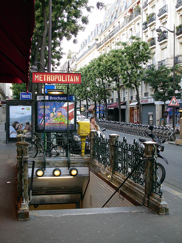 Brochant m tro de paris - 13 avenue de la porte d italie ...