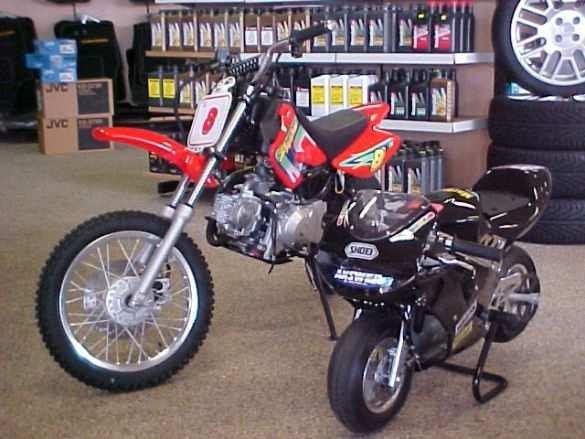 Manual For  Suzuki Cc Midi Moto Dirt Bike