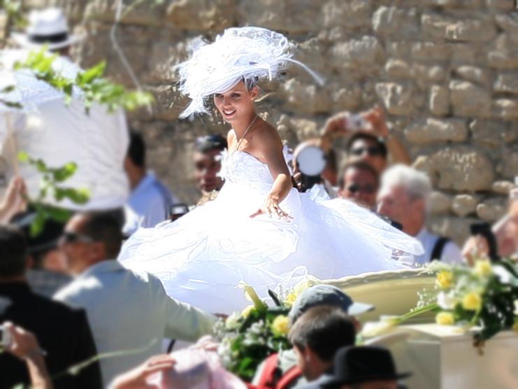 sylvie tellier en 2007 lors de son mariage - Ariane Quatrefages Photo Mariage