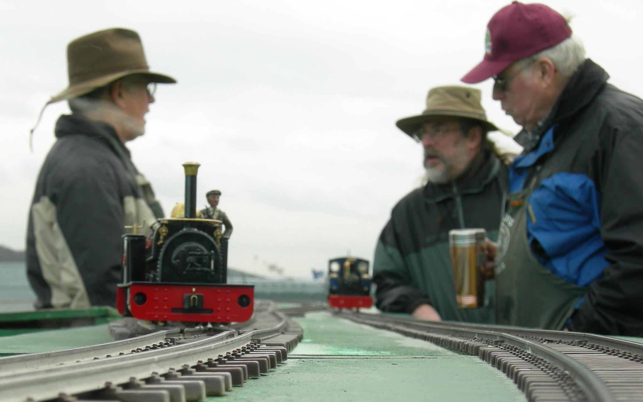 Miniature train completes epic journey through Great Glen ...