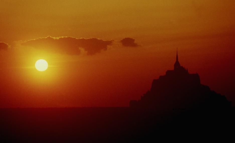 Baie du mont saint michel - L heure du coucher du soleil aujourd hui ...