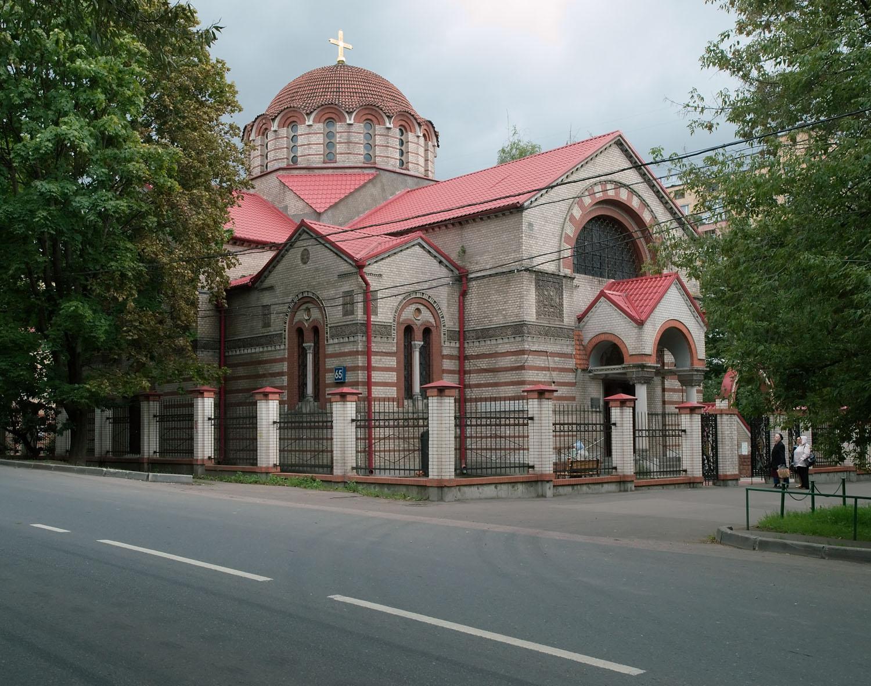 Église nd du signe de kountsevo (moscou) 1911