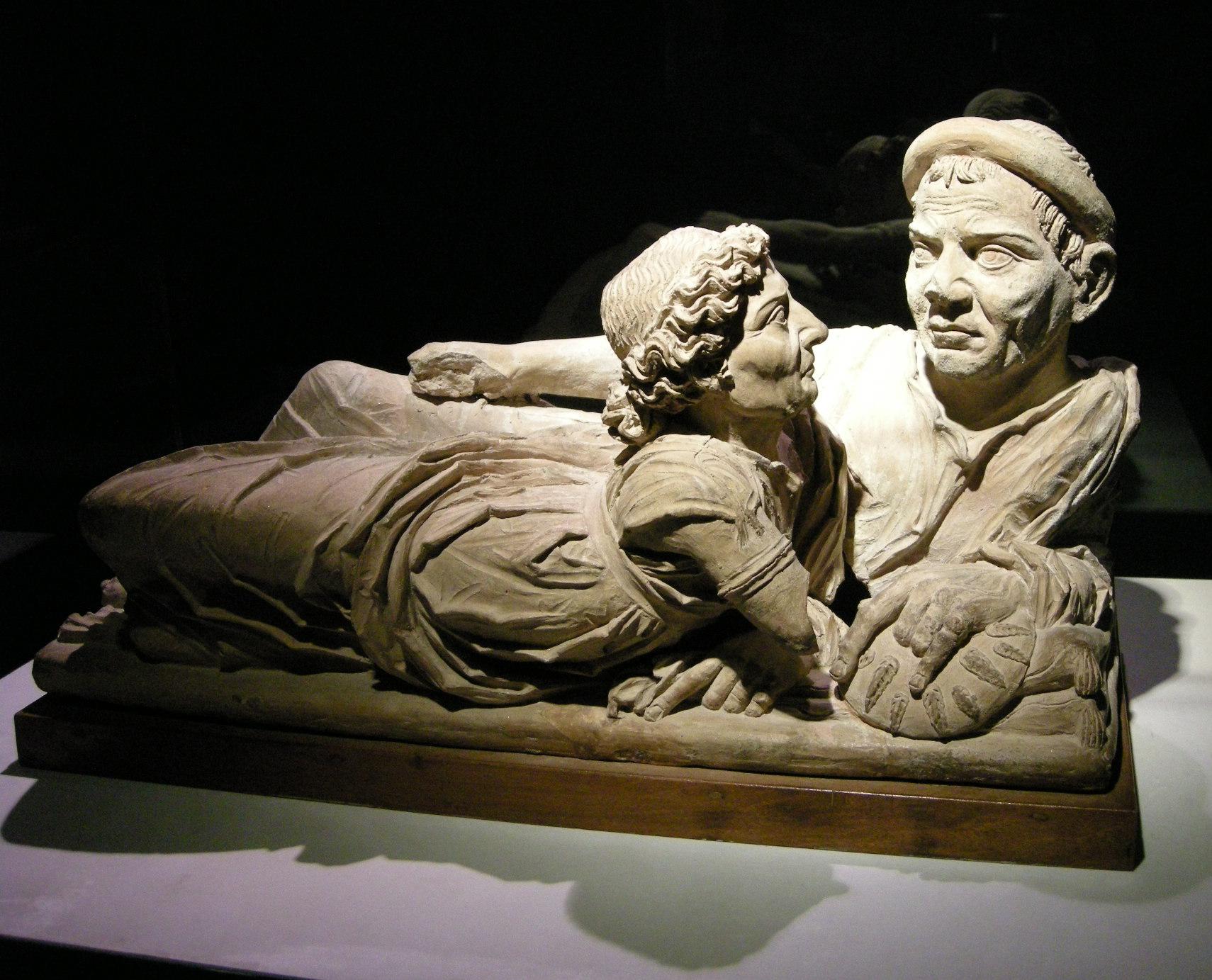 Art etrusque for Degli sposi