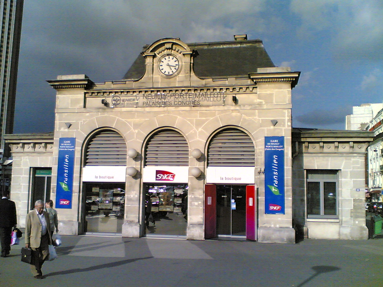 Gare de neuilly porte maillot for Porte maillot in paris