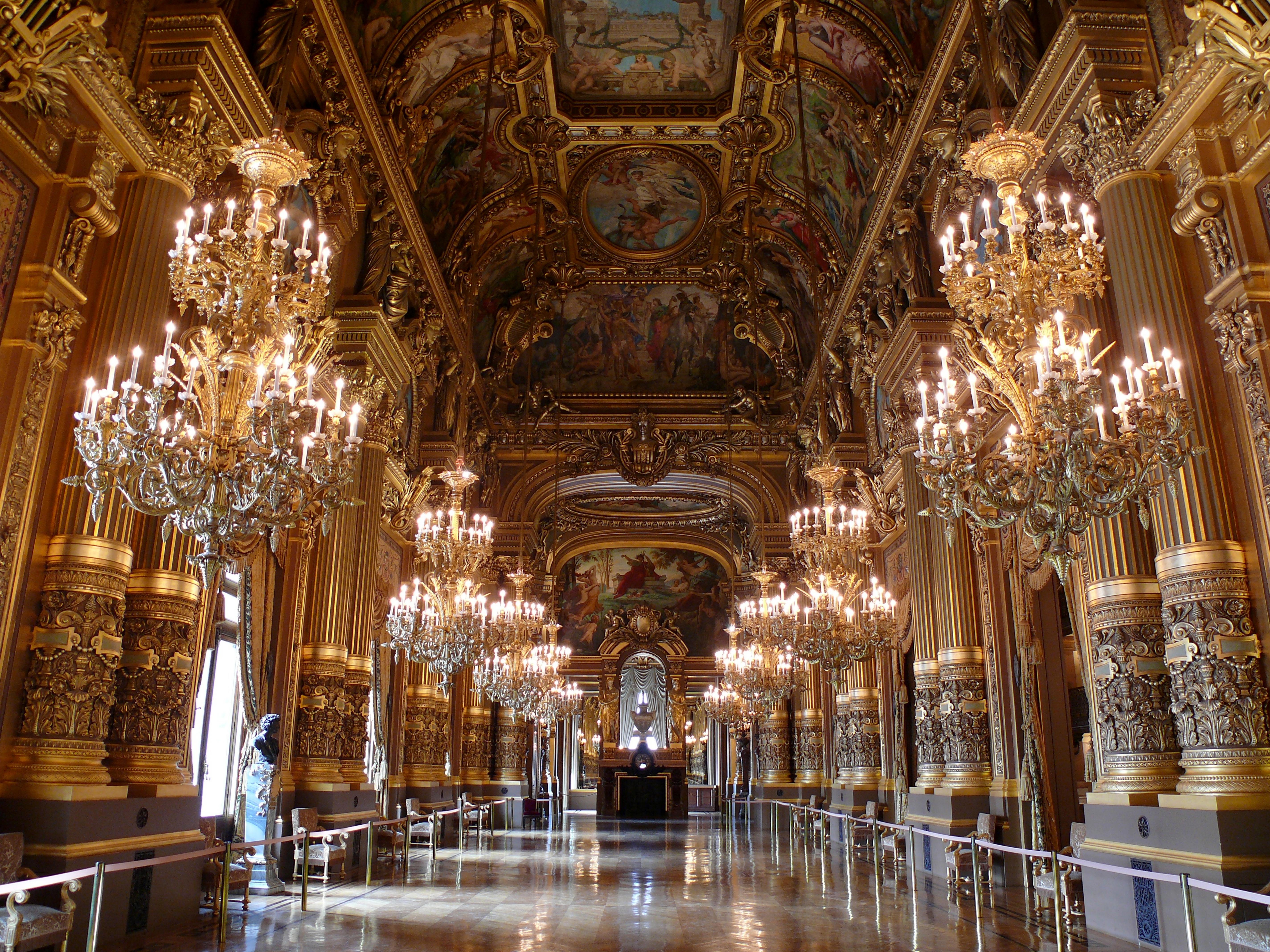 Grand Foyer Et Petit Foyer : Opéra garnier