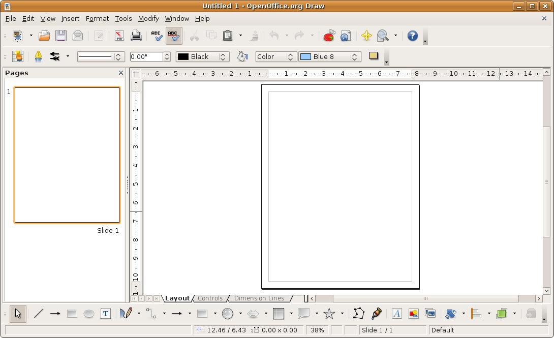 Draw - Open office derniere version ...