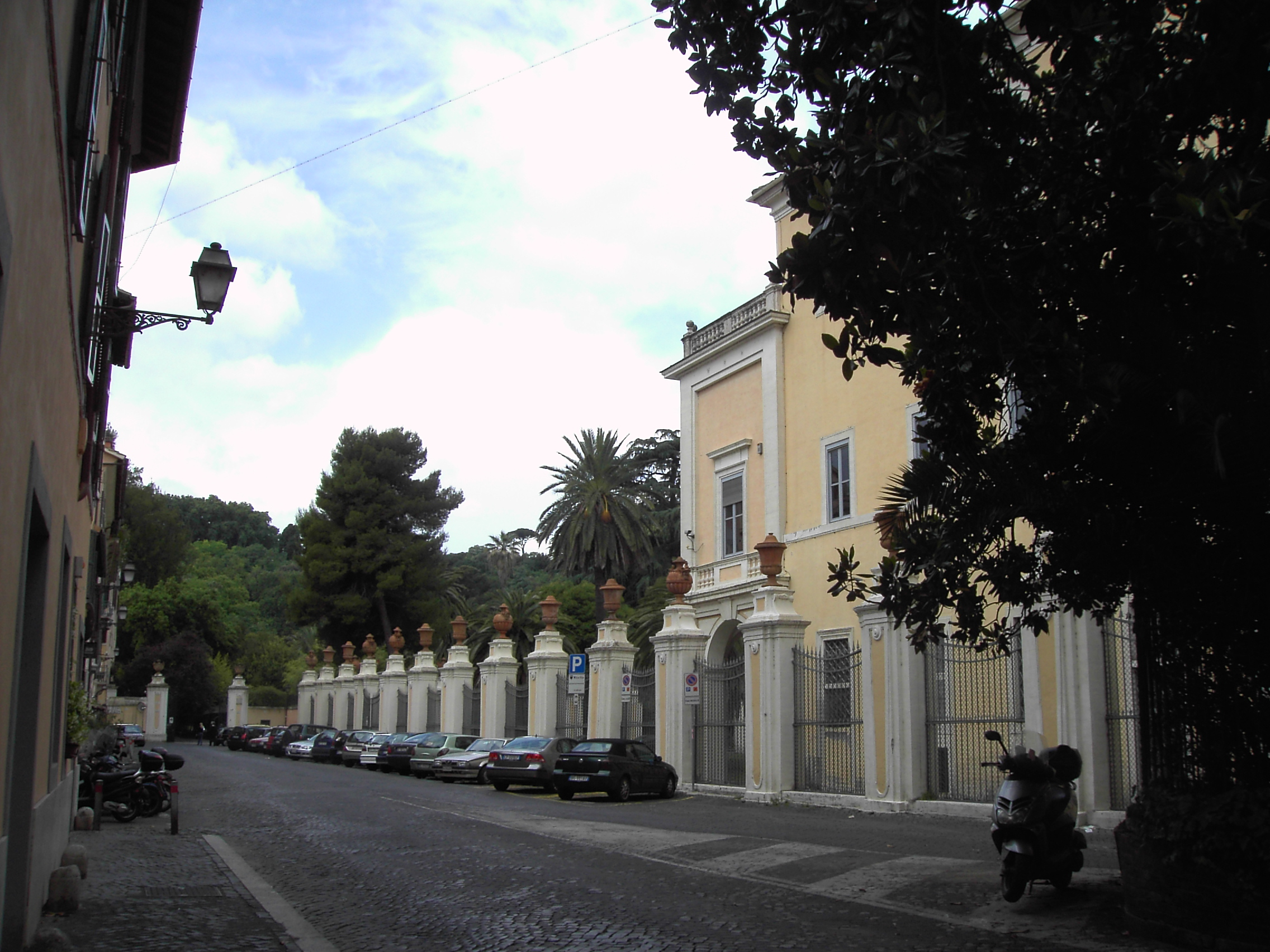 Jardin botanique de l 39 universit de rome - Residence les jardins de l universite ...