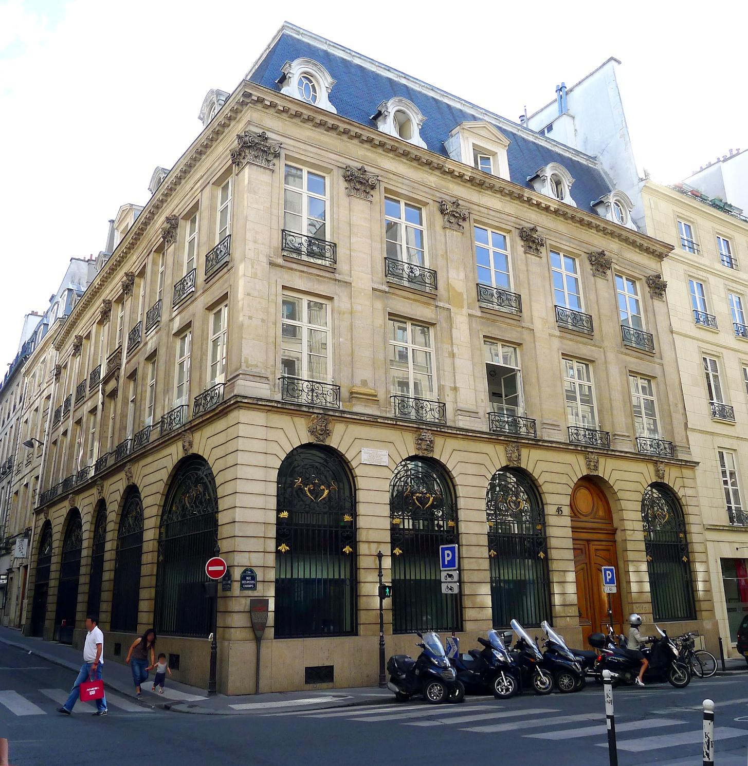 liste des monuments historiques du 1er arrondissement de paris. Black Bedroom Furniture Sets. Home Design Ideas