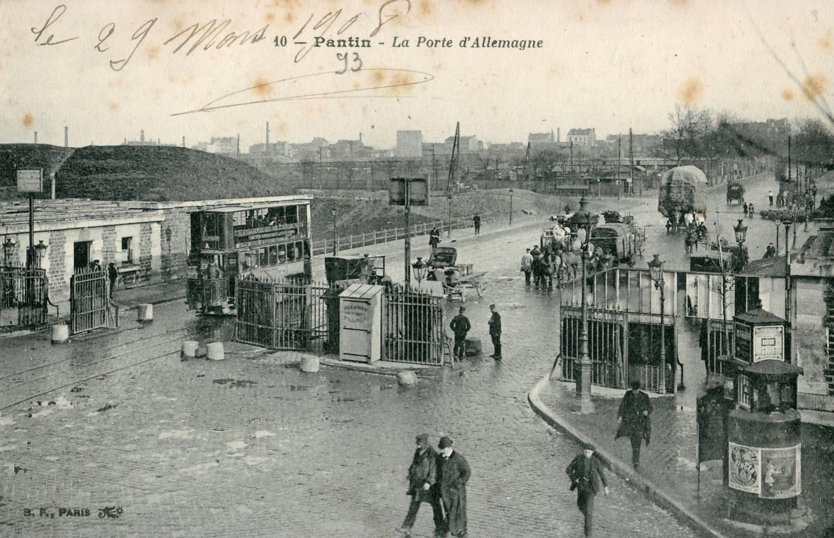 Porte de pantin for Porte de pantin salon