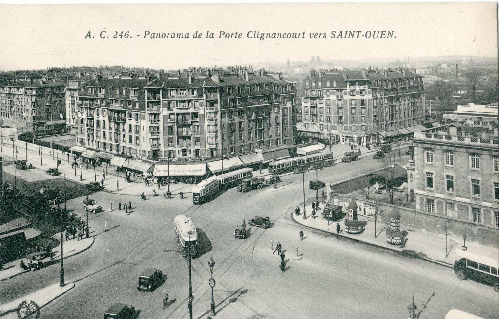 Porte de clignancourt - 30 avenue de la porte de clignancourt ...