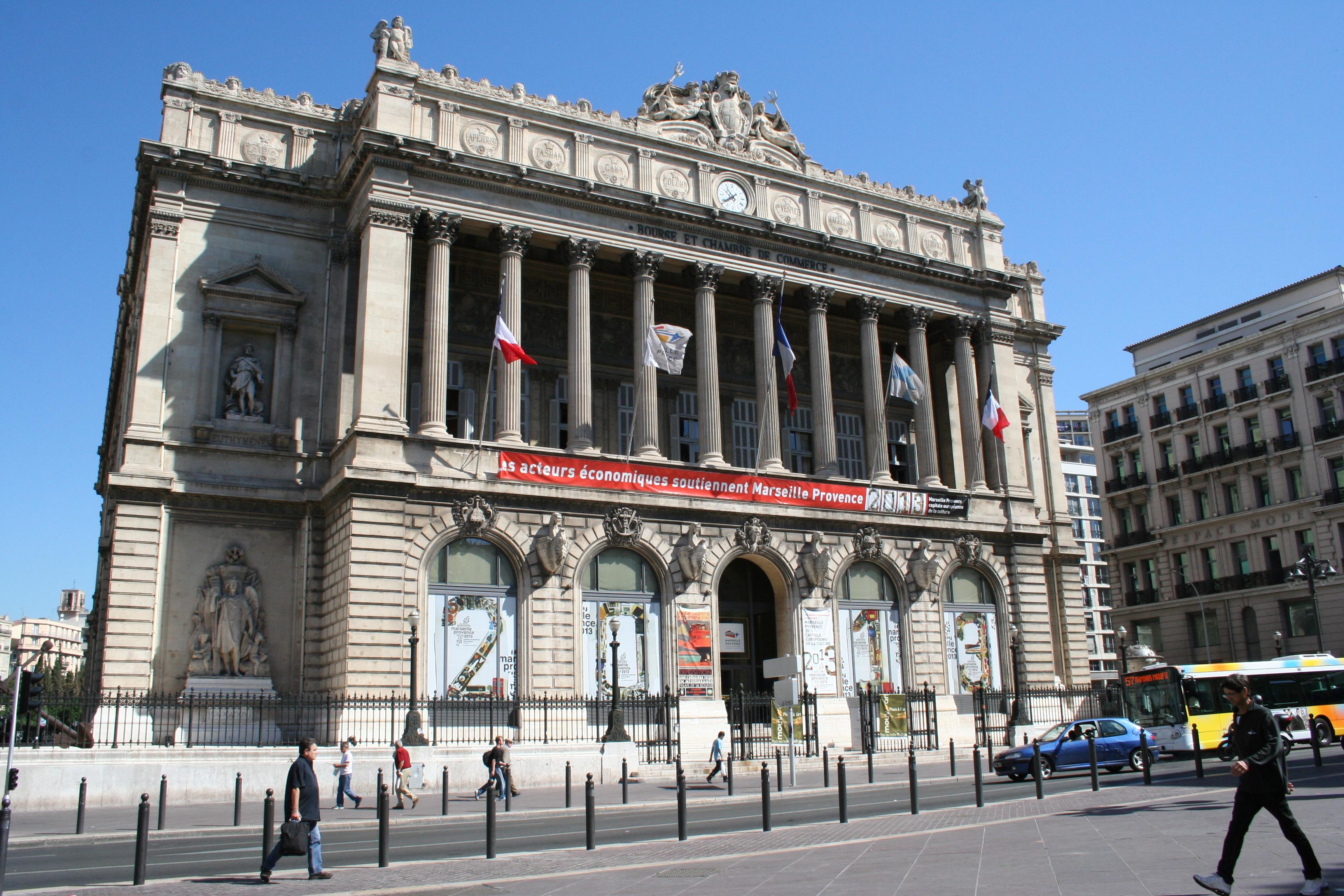 Palais de la bourse marseille for Chambre de commerce de marseille
