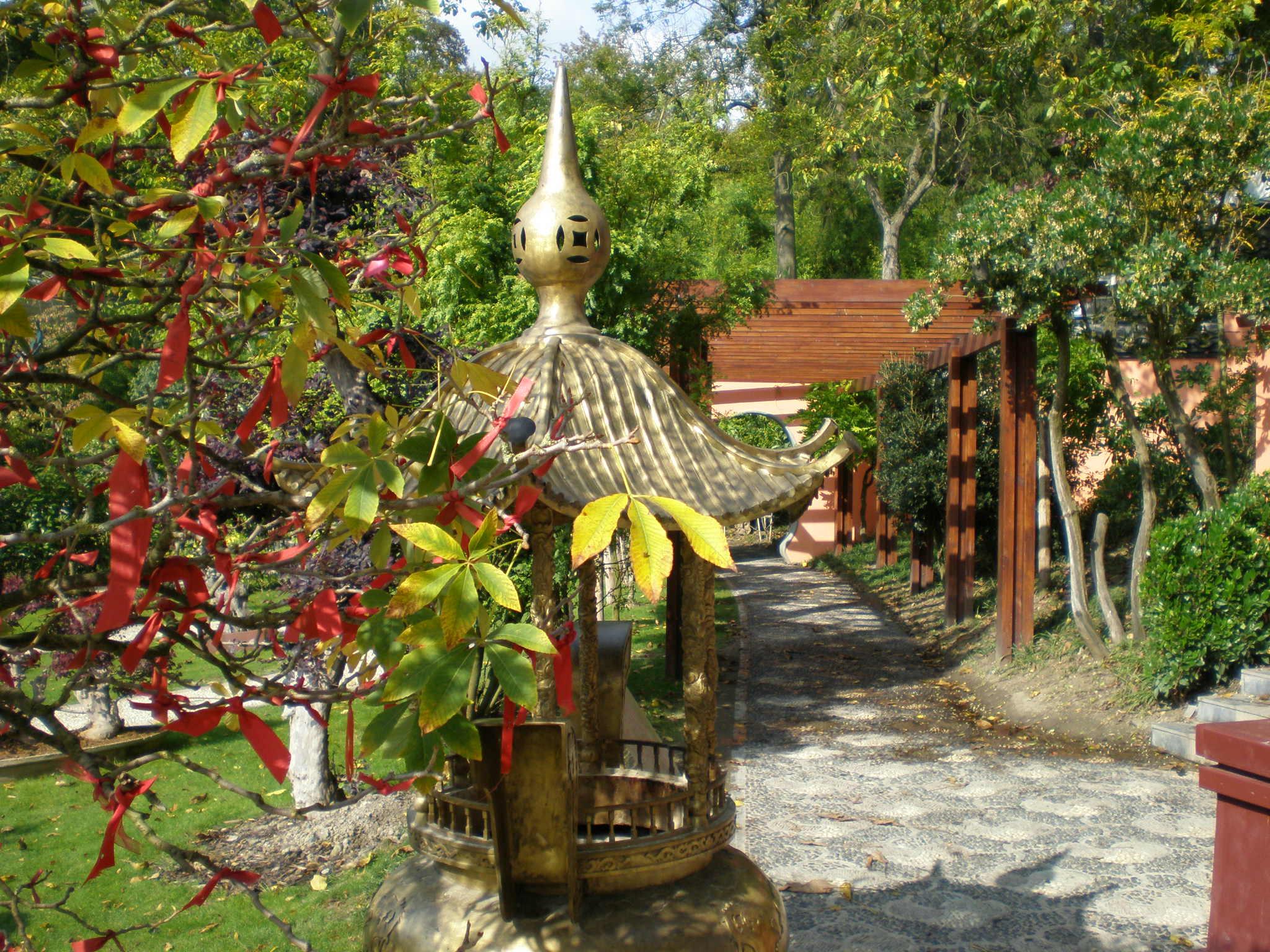 Pairi daiza for Jardin chinois