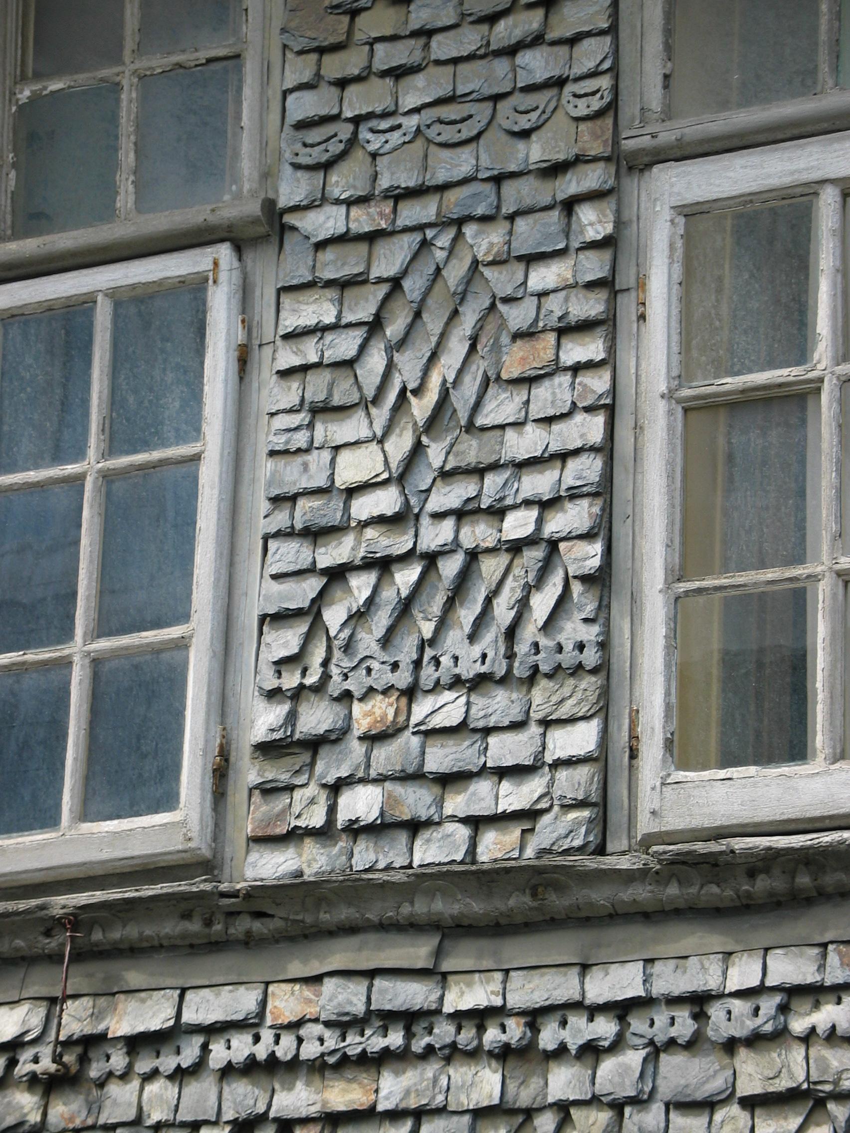 Exterior Wall Shingles : Lause