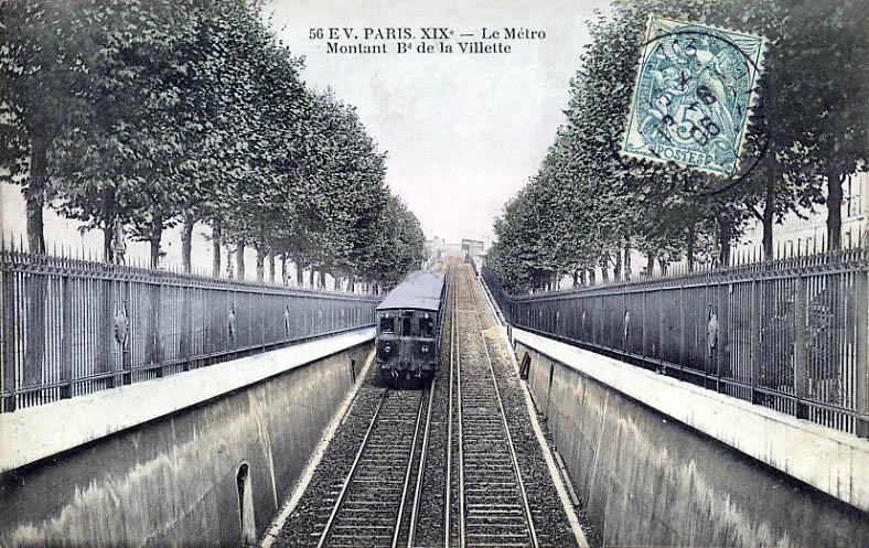 Ligne 2 du m tro de paris - 10 avenue de la porte de menilmontant ...