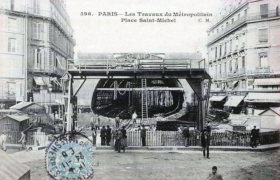 Place saint michel - Saint michel paris metro ...