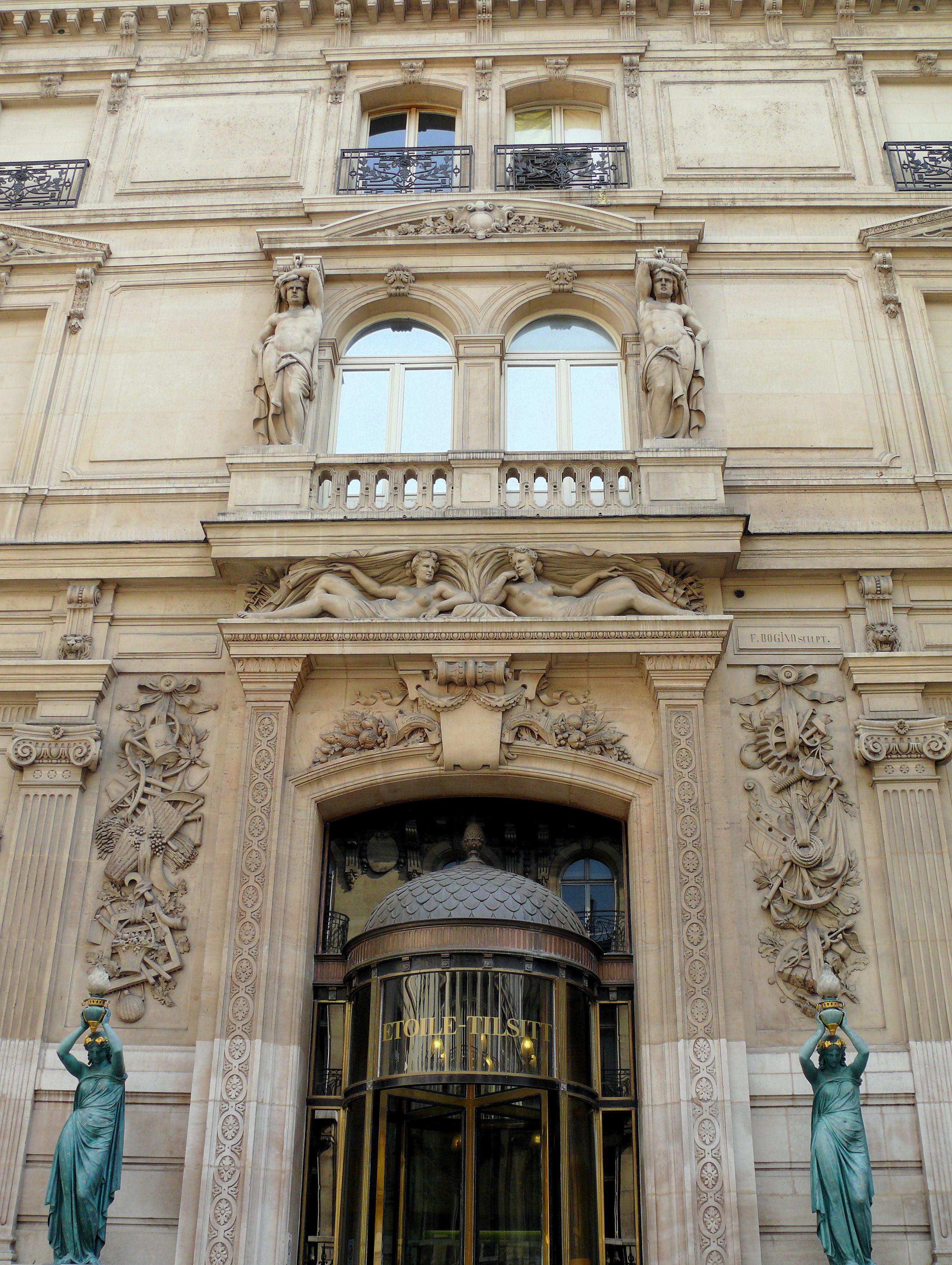 Liste des monuments historiques du 17e arrondissement de paris for Liste des hotels paris