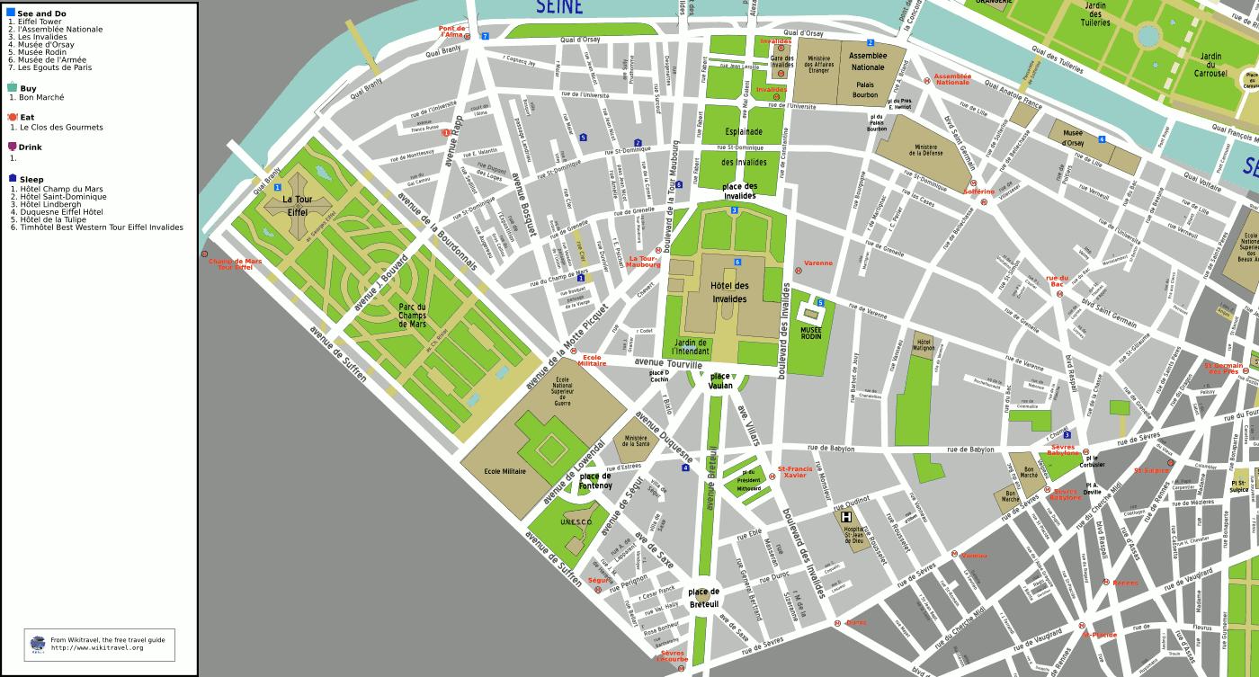 7e arrondissement de paris - Chambre d hote paris 7eme arrondissement ...