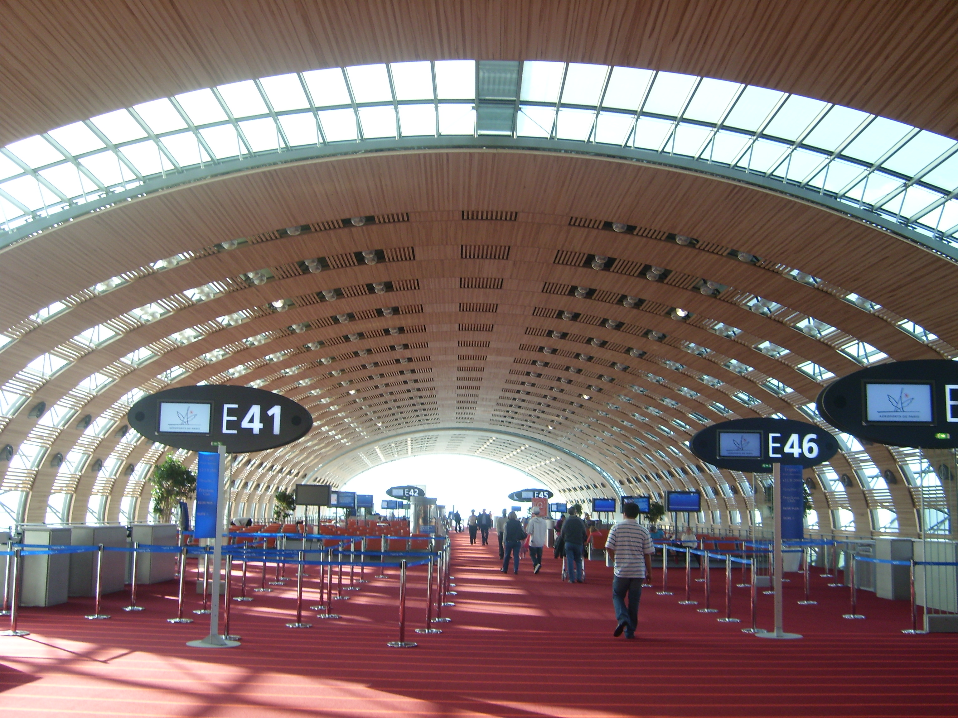 Point de rencontre aeroport cdg