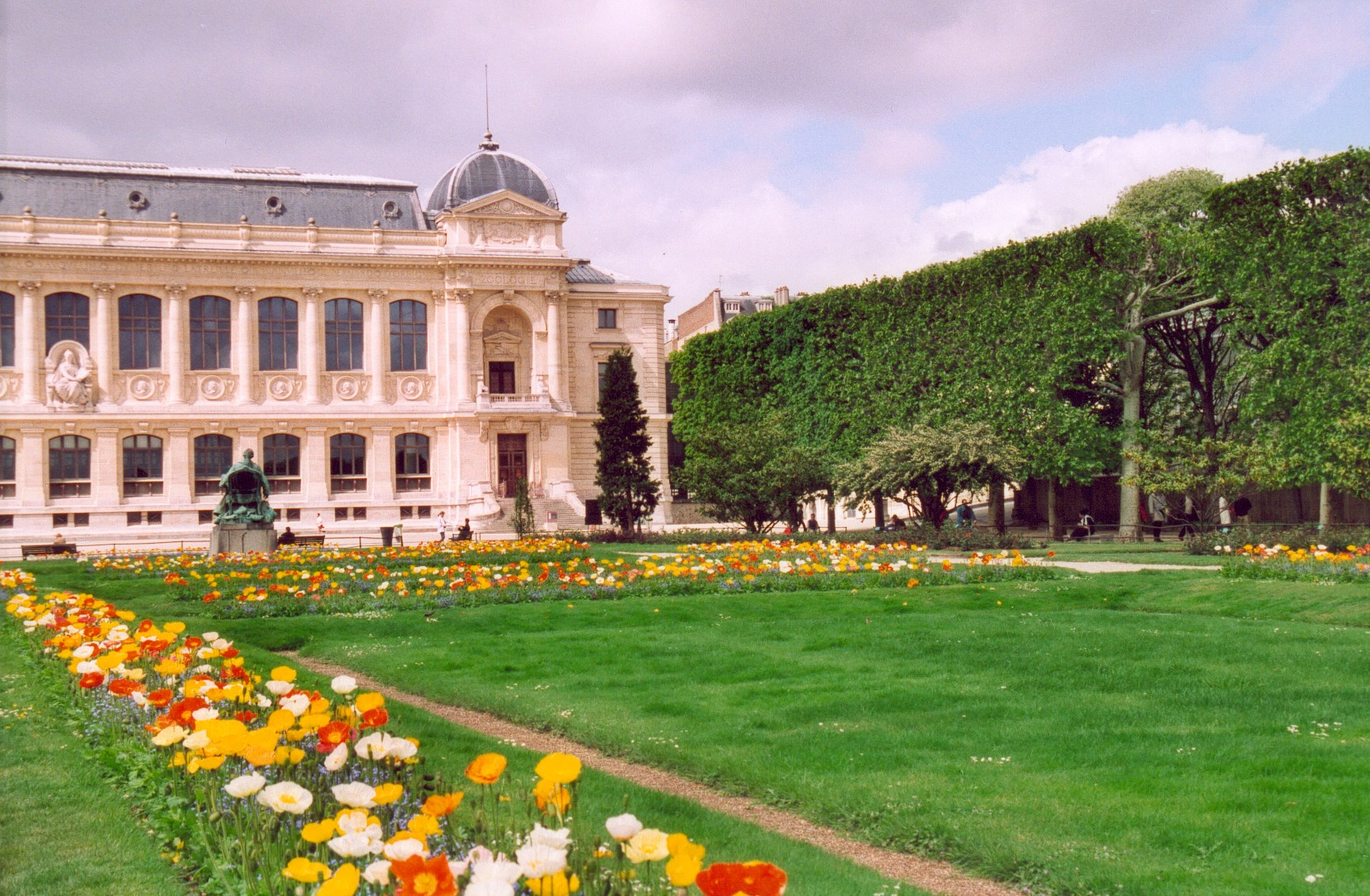 Jardin des plantes de paris for Plantes fleuries de jardin