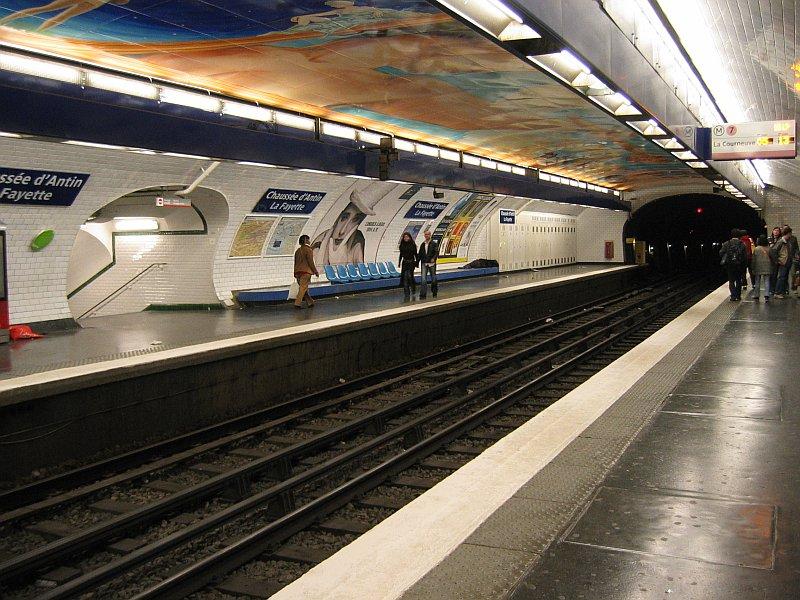 chaussee d 39 antin la fayette metro de paris. Black Bedroom Furniture Sets. Home Design Ideas