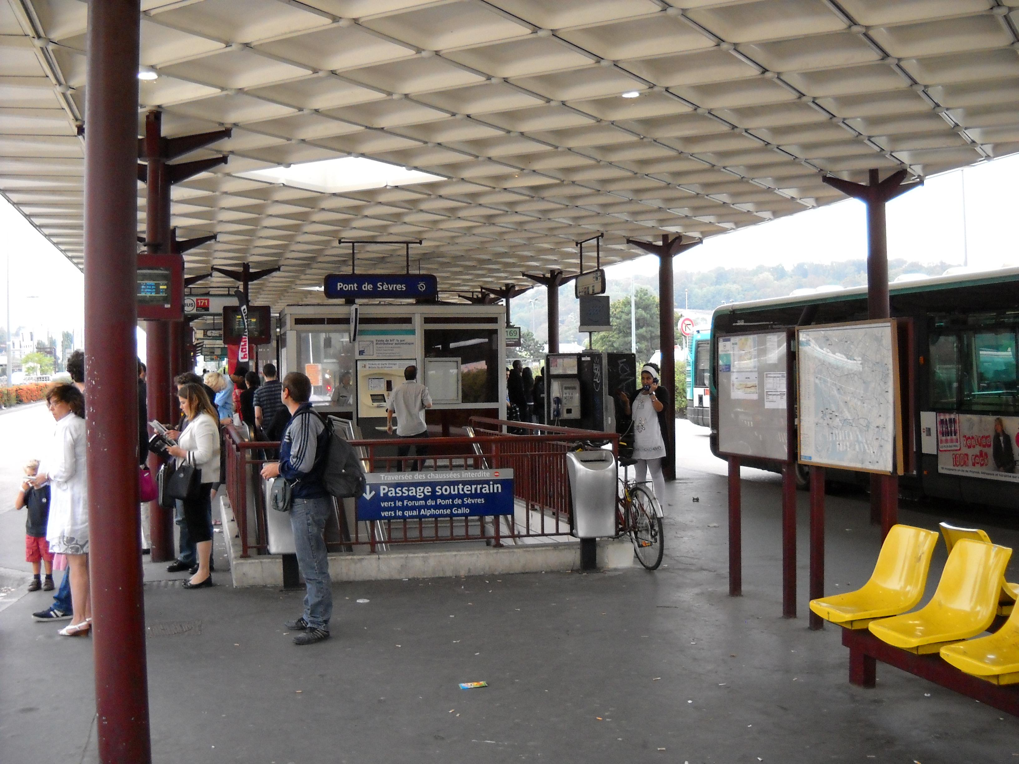 Boulogne billancourt - Gare routiere porte de bagnolet ...