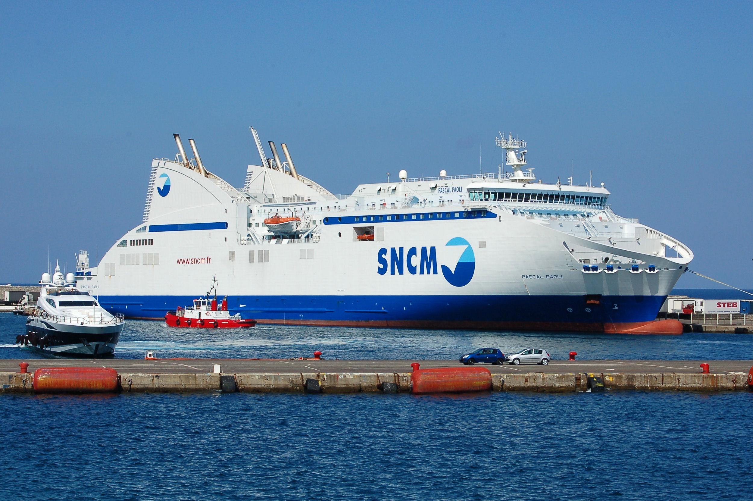 Soci t nationale maritime corse m diterran e - Marseille bastia bateau ...