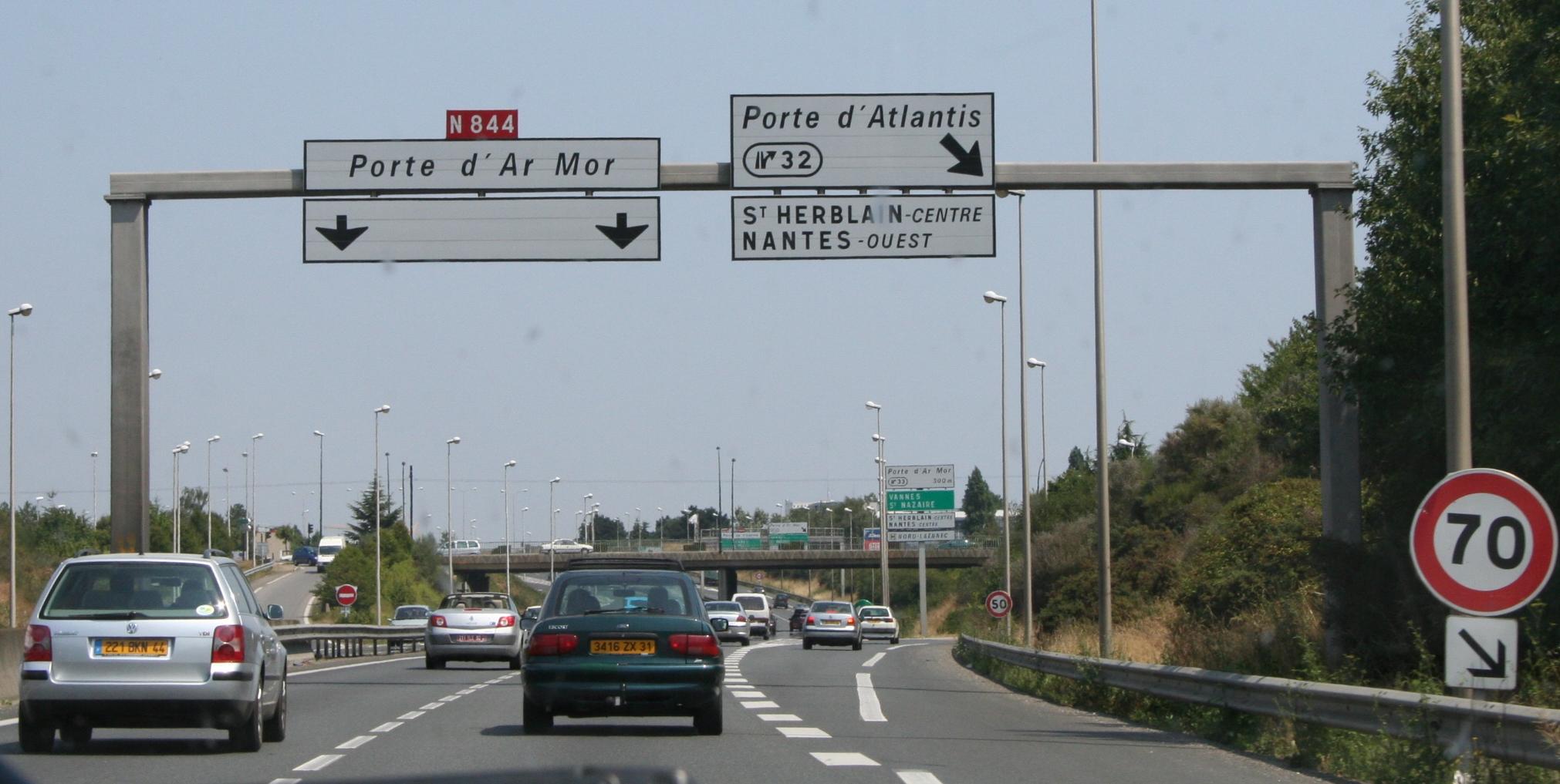 Boulevard p riph rique de nantes - Porte de la beaujoire nantes ...