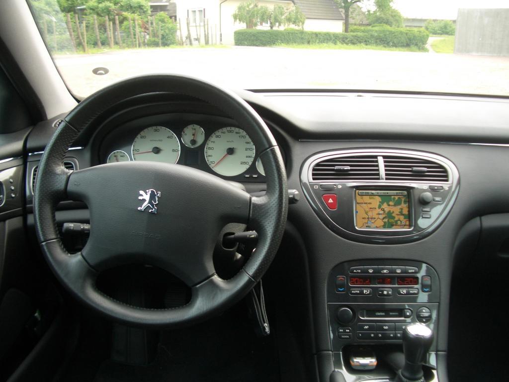 Peugeot 607 for Interieur 607 v6