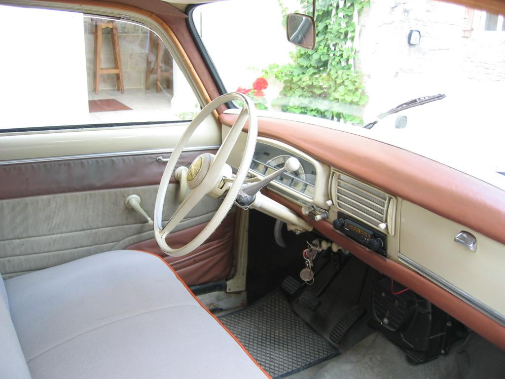 Peugeot 403 for Interieur 404