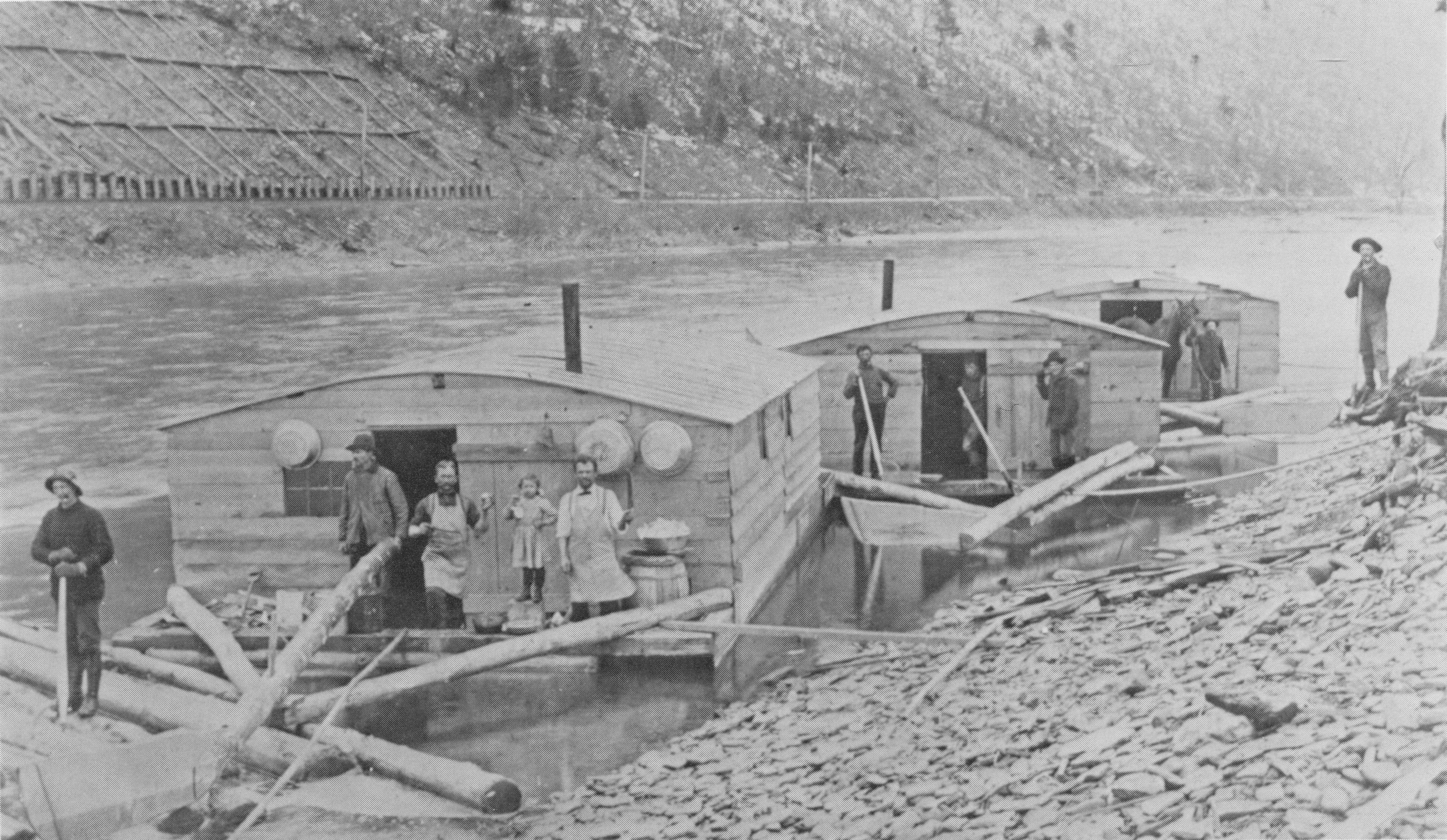 Flottage du bois for Chambre a coucher yakut