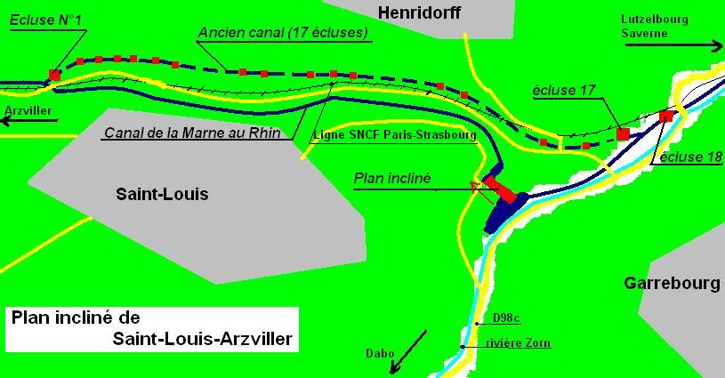 Plan inclin de saint louis arzviller - Plan incline de saint louis arzviller ...