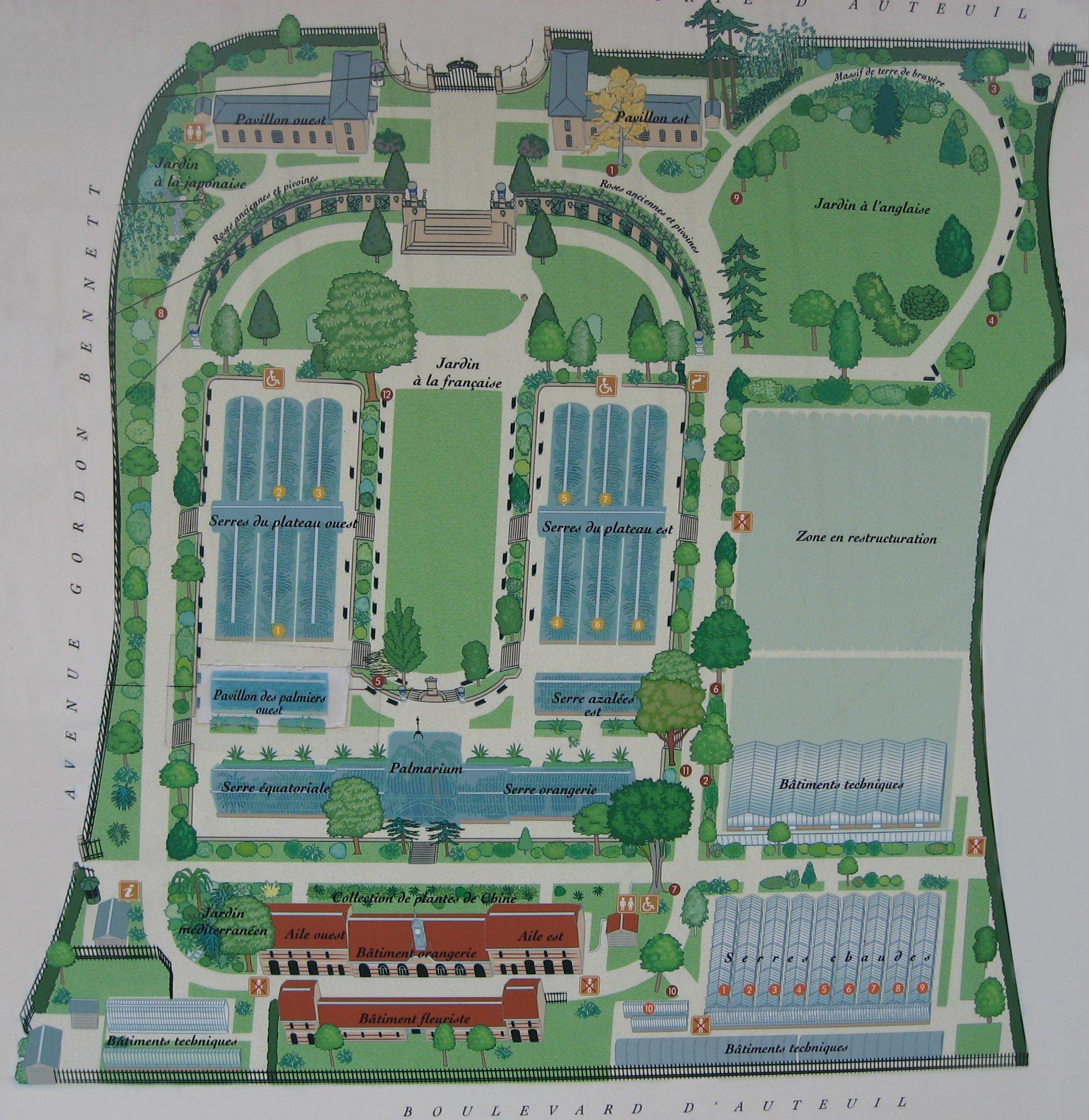 Jardin des serres d 39 auteuil for Jardin botanique paris