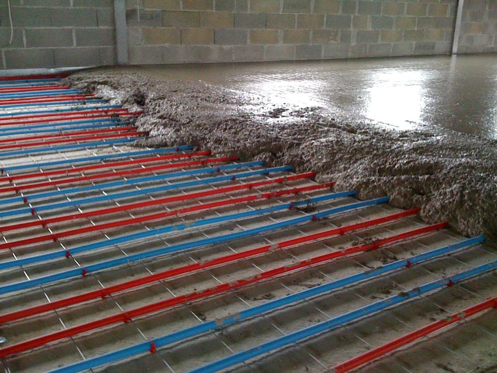 Capteur solaire thermique for Epaisseur d un plancher chauffant