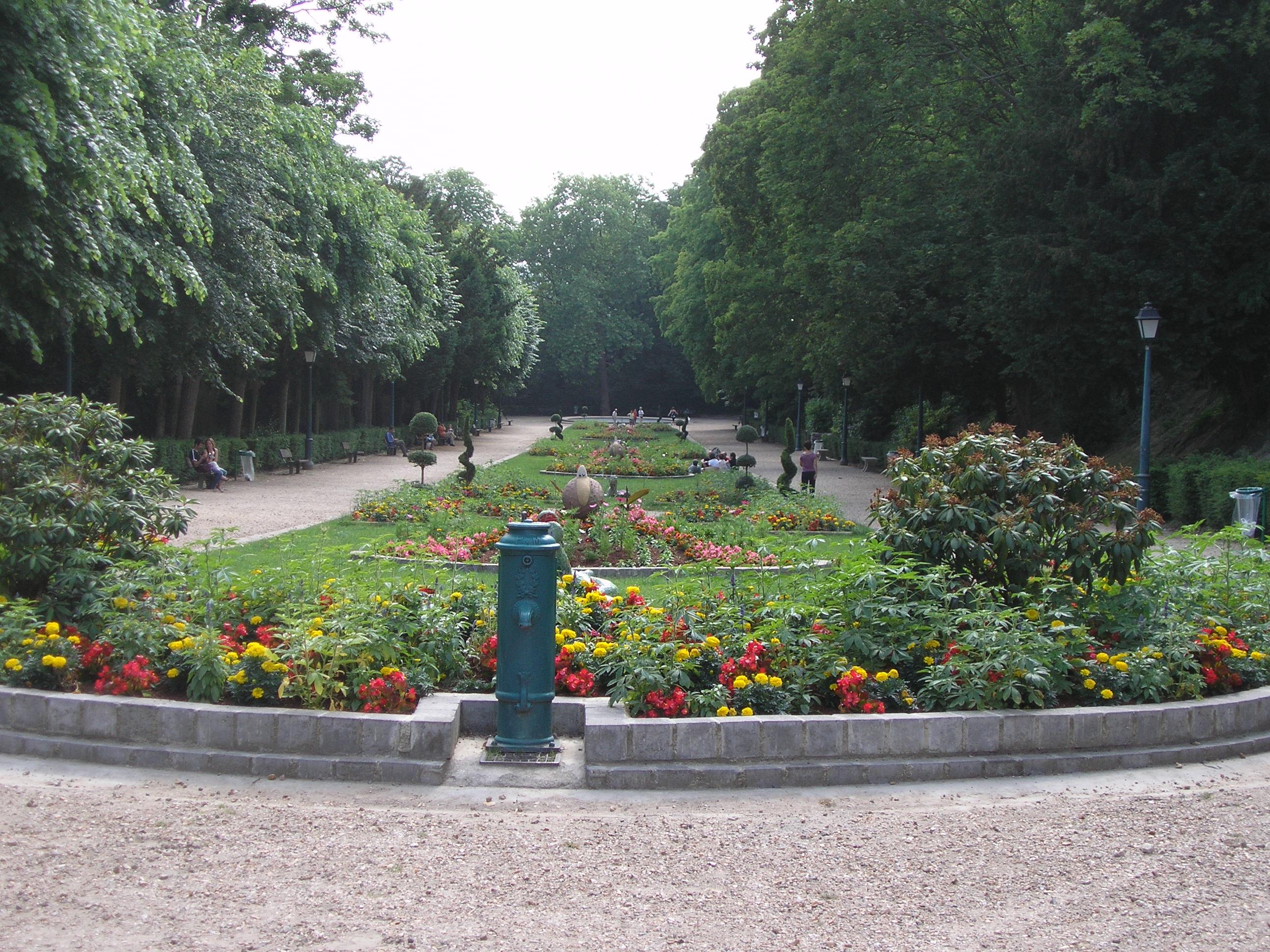 Cergy pontoise for Les jardins de la ville
