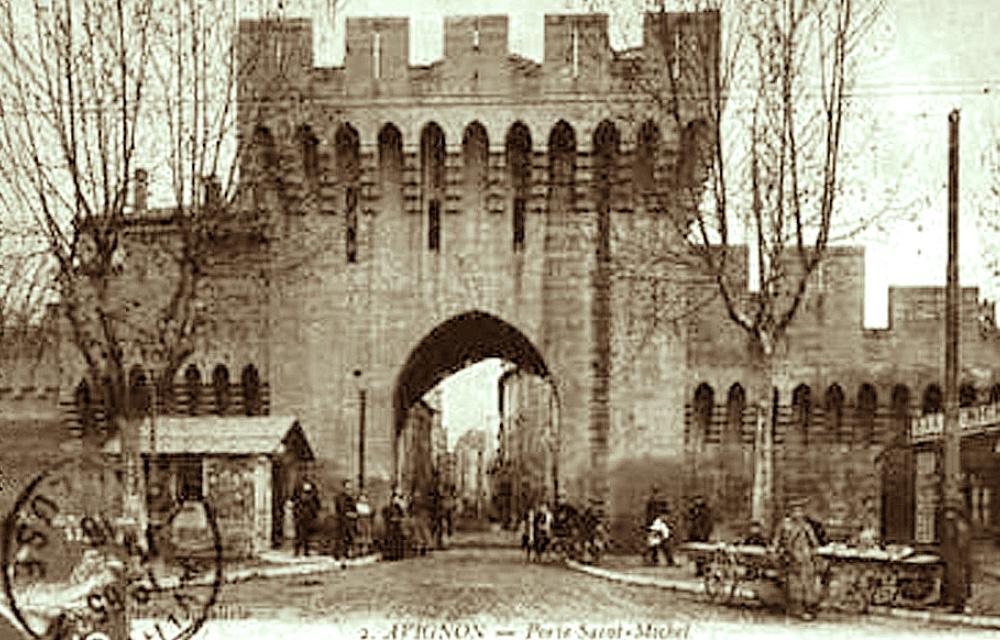 Remparts d 39 avignon for Porte unie st michel