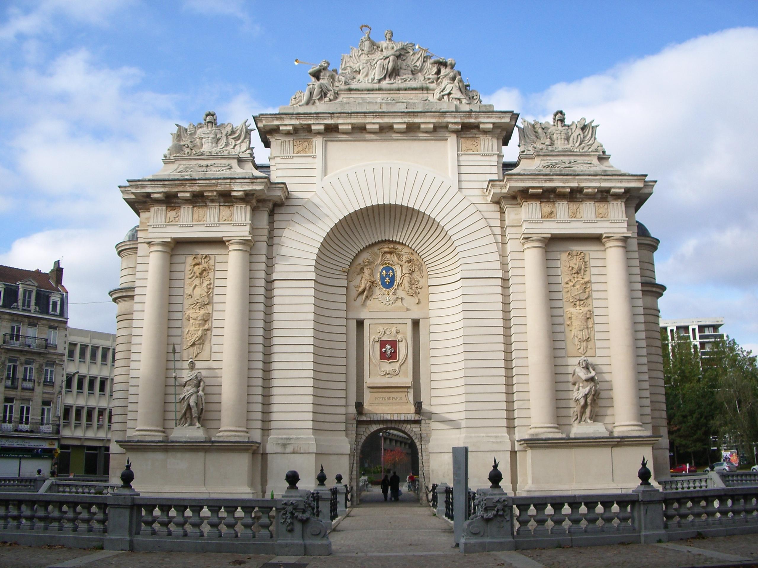 Porte de paris lille - Combien de portes a paris ...