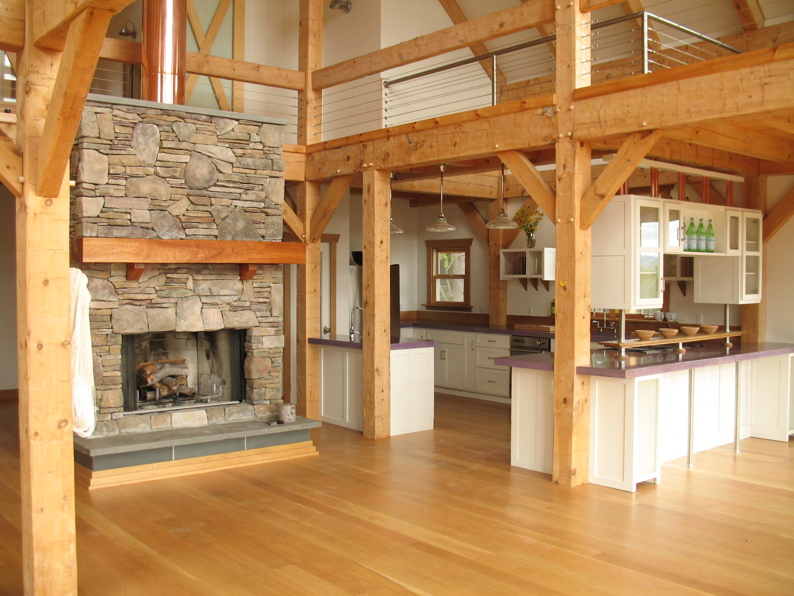 Magnificent Timber Frame Home Fireplace 1600 x 1200 · 536 kB · jpeg