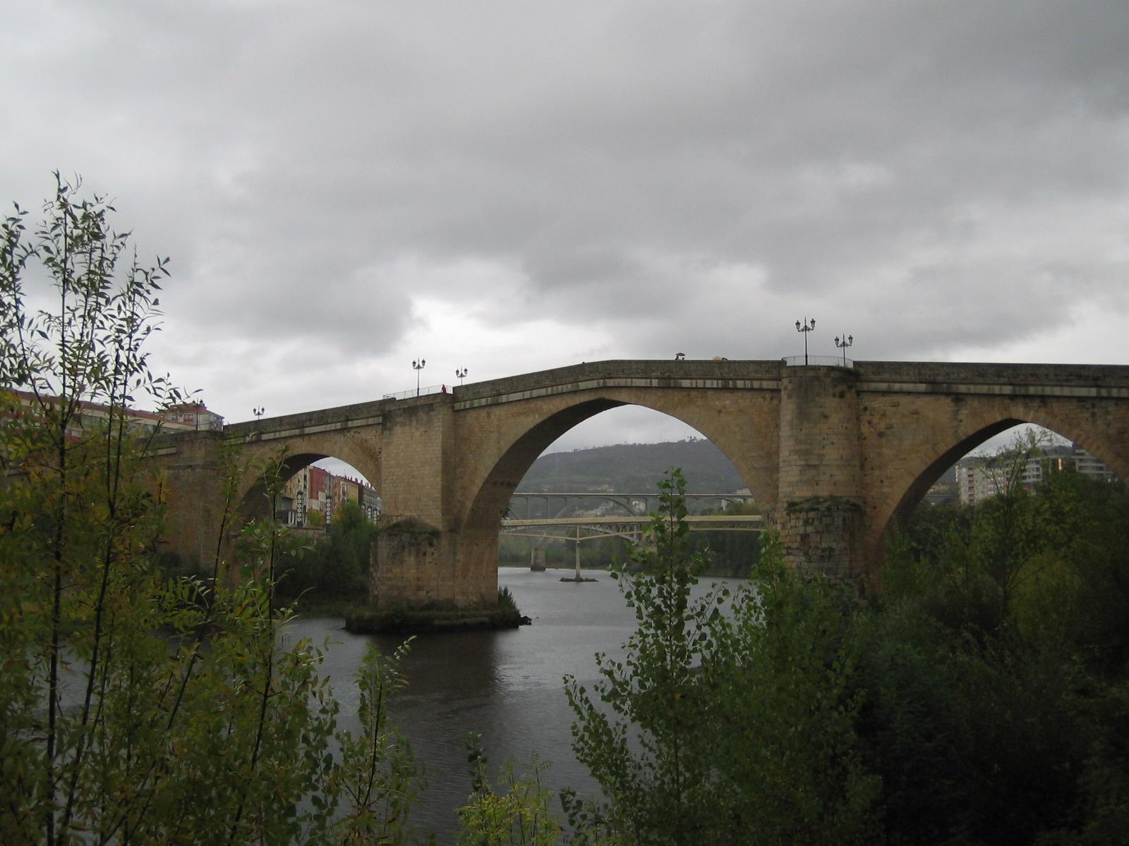 Baños Romanos Aljucen:Puente Romano Spain