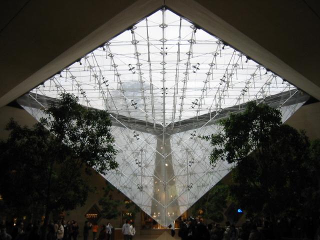 Pyramide du louvre - Pyramide du louvre 666 ...