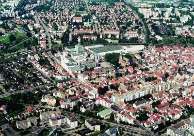 Vue A Ef Bf Bdrienne Quartier Centre Ville
