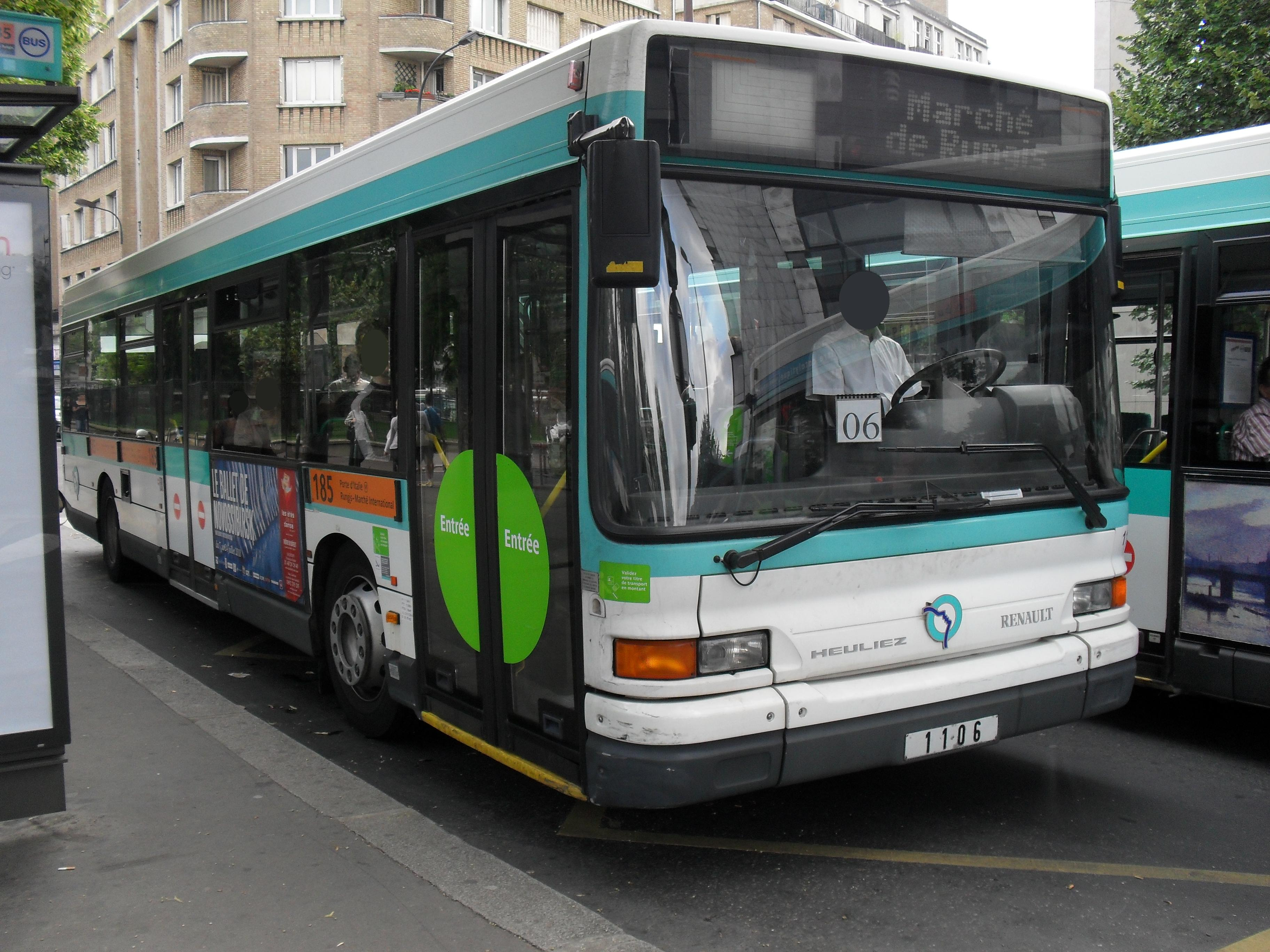 Lignes de bus ratp de 100 199 for Chevilly larue piscine