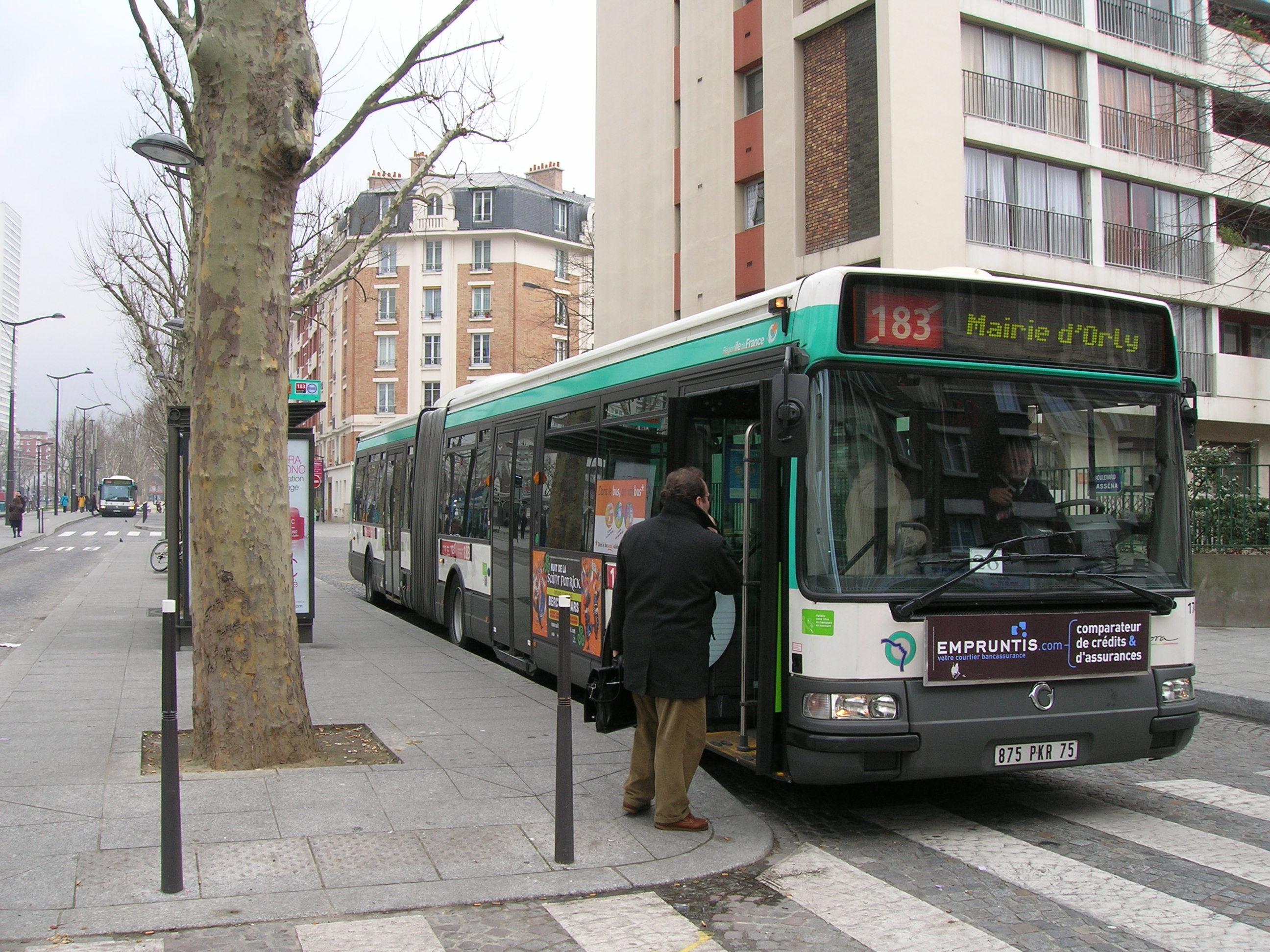 Ligne De Bus Ratp 183