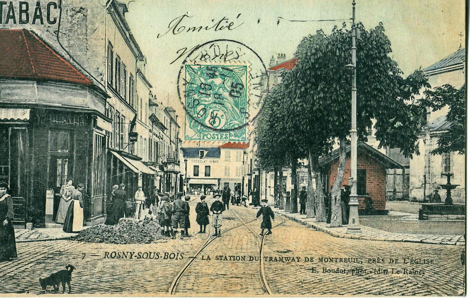 ROSNYSOUSBOISLastationduTramwaydeMontreuil%2Cprèsde ~ Mairie De Rosny Sous Bois