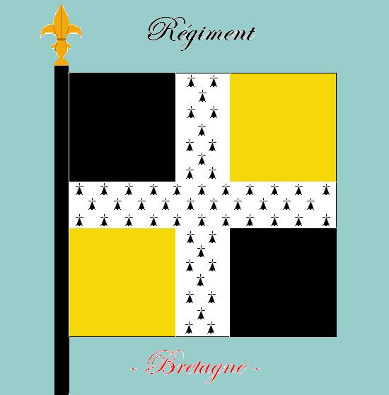 Drapeau de la bretagne for Portent un ecusson